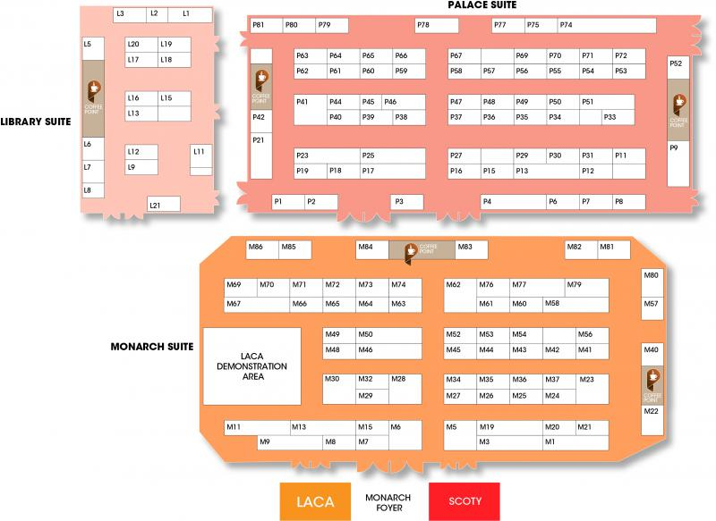 Exhibitor List & Floorplan | The Main Event